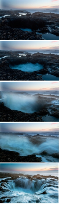 Thor's Well, Sequence