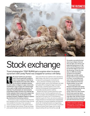 Professional Photographer Magazine, Stock Exchange